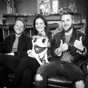 Peter M�ssig, Linda Stark, Philipp Leon Altmeyer (Songwriting Team @ ROBA Songwriting Camp)